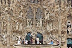 Sagrada Família, Barcelona. The Sagrada Familia - The Holy Family - is a catholic basilica in Barcelona, Catalonia, dating back to 1882 and royalty free stock photos