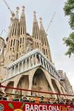Sagrada FamÃlia,巴塞罗那 免版税库存图片