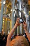 Sagrada FamÃlia, Βαρκελώνη Στοκ φωτογραφίες με δικαίωμα ελεύθερης χρήσης