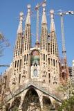 Sagrada FamÃlia - Barcelona Stock Afbeelding