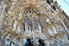Sagrada famÃlia, Barcelona Obraz Royalty Free
