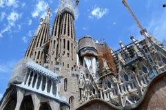 Sagrada famÃlia, Barcelona Zdjęcie Stock