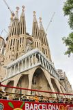 Sagrada FamÃlia, Barcelona Imagem de Stock Royalty Free
