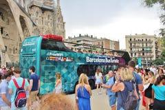 Sagrada FamÃlia, Barcelona Imagem de Stock