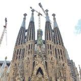 Sagrada FamÃlia, Barcelona Imagens de Stock Royalty Free