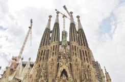 Sagrada FamÃlia, Barcelona Fotos de Stock