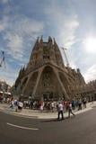 Sagrada Família Fotografie Stock Libere da Diritti