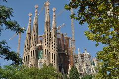 Sagrada Família lizenzfreie stockfotos