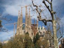 Sagrada Família Imagen de archivo libre de regalías