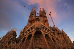 Sagrada Família Imagens de Stock Royalty Free