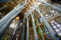 Sagrada Família, Barcelona, Spain Stock Photography