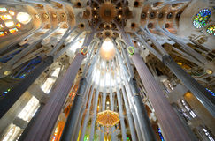 Sagrada Família, Barcelona, Spain Royalty Free Stock Photography