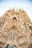 Sagrada Família, Barcelona, Spanien Lizenzfreies Stockfoto