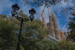 Sagrada Família II Royalty Free Stock Images
