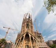 Sagrada Família, Barcelona, Spain. Royalty Free Stock Image