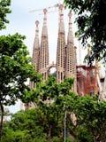 Sagrada Fam�lia, Barcelona, Spain. Royalty Free Stock Images