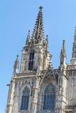 Sagrada Familia在巴塞罗那,西班牙-特写镜头 库存图片