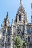 Sagrada Familia在巴塞罗那,西班牙 免版税库存图片