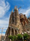 Sagrada Familia大教堂 免版税库存图片
