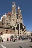 Sagrada Familia,巴塞罗那 图库摄影