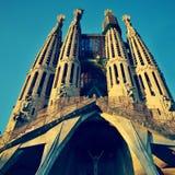 Sagrada Familia à Barcelone, Espagne Photo libre de droits