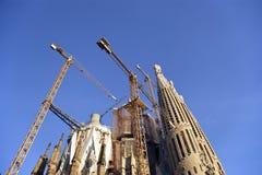 Sagrada Familia από το Antoni Gaudi στη Βαρκελώνη Στοκ εικόνες με δικαίωμα ελεύθερης χρήσης