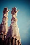 Sagrada Familia από το Antoni Gaudi στη Βαρκελώνη Ισπανία Στοκ Φωτογραφίες