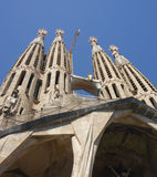 Sagrada Familia Βαρκελώνη Στοκ φωτογραφίες με δικαίωμα ελεύθερης χρήσης