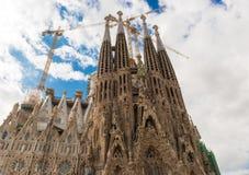 Sagrada Familia, Βαρκελώνη Στοκ Εικόνες