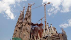 Sagrada Familia, Βαρκελώνη απόθεμα βίντεο