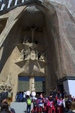 Sagrada Familia είσοδος, Βαρκελώνη στοκ εικόνα με δικαίωμα ελεύθερης χρήσης