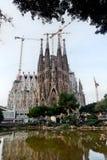 Sagrada Familia, Барселона, Испания Стоковая Фотография RF
