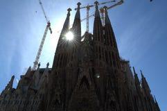 Sagrada Familia, Барселона стоковая фотография rf