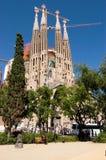Sagrada Familia, Барселона стоковое изображение