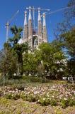 Sagrada Familia, Барселона стоковые фотографии rf