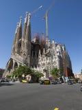 Sagrada Familia, Барселона стоковые изображения rf