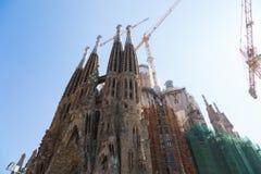 Sagrada Familia в Барселоне, Испании Стоковая Фотография