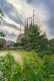 Sagrada Familia巴塞罗那,西班牙 库存图片