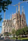 Sagrada Familia -巴塞罗那,西班牙 库存图片