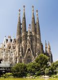 Sagrada Familia 1 stockfoto