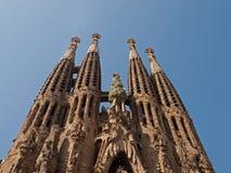 Sagrada Familia. In Barcelona, Spain Royalty Free Stock Photos