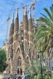 Sagrada Familia fotografia stock libera da diritti