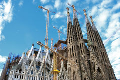 Sagrada Familia Stock Image
