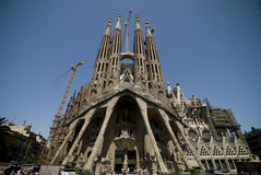 Sagrada Familia stockfoto