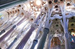 Sagrada Familia, Foto de Stock Royalty Free