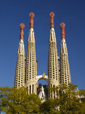 Sagrada Familia 2 Royalty Free Stock Image