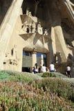 Sagrada Familia Imagens de Stock