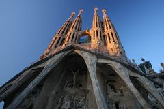 Sagrada familia Royalty-vrije Stock Foto's