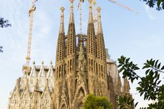 Sagrada Familia Royalty Free Stock Photography