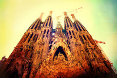 Free Sagrada Familia Royalty Free Stock Photo - 27777385